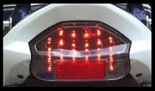 SUZUKI GSX1400 DARK SMOKED LED TAIL LIGHT GSX 1400 GSX14 (E MARKED ROAD LEGAL)