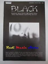 BLACK MAGAZINE 32/2003 In The Nursery Scream Silence Type O Negative Elend No*cd