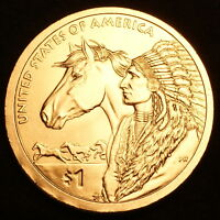 2012 P Sacagawea Native American Dollar ~ Pos B ~ Choice BU from U.S. Mint Roll