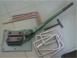 Bender for reinforcing and flat bars 6 to 12mm, reinforcement bending machine