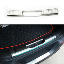 Car Rear Truck Protector Pad Cover Trim Stainless Steel For Jeep Cherokee 14-17