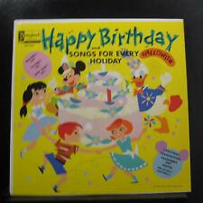 Various - Happy Birthday Songs And Songs For Every Holiday LP Mint- DQ-1214 Mono