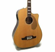 Fender Kingman Bass SCE Dreadnought Cutaway Acoustic-Electric Bass w/ Case