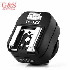 Pixel TF-322 ITTL TTL Hot Shoe Converter Adapter to PC Sync Socket for Nikon