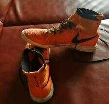 Scarpe Nike calcetto MAGISTAX PROXIMO TF Solar Red usate