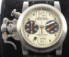 Graham Chronofighter 2CRBS Limited in Stahl von ca. 2006 - sehr selten - rare !