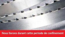2 x Lames de scie ruban 2300mm largeur 25mm pour KITY 613