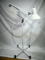 Vintage Swing Arm Articulating Desk Floor Lamp Architect Drafting Adjustable MCM