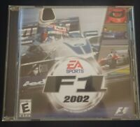 F1 Formule 1 2002 EA Sports PC Game CD-Rom Video Game Rare