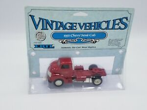 1988 ERTL 1950 CHEVY SEMI CAB VINTAGE VEHICLES red#2625 1/43 scale