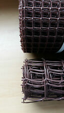 20mm / 50mm Brown Plastic Garden PVC Mesh Wire Fencing 5m 10m 20m