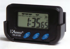 Black Car Digital Electronic Time Clock - Usa Shipping