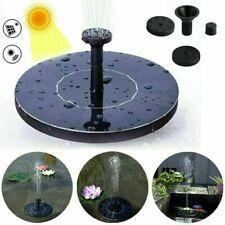 Pompe à eau solaire fontaine panneau solaire 150L/h diffuseurs Jardin Bassin FR