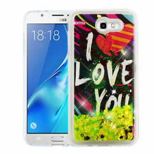 Yellow Love Quicksand COVER + GLASS SCREEN FILM FOR SAMSUNG Galaxy Halo / I8520