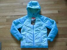 NORTH FACE GIRLS REVERSIBLE PERSEUS JACKET, ICE GREEN, NWT, M (10-12)