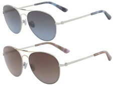 Calvin Klein Collection Women's Aviator Sunglasses Made In Italy CK8031S