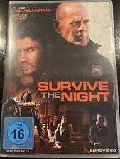 Survive The Night     DVD  -  Bruce Willis + Chad Michael Murray