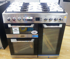 LEISURE Cuisinemaster CS90F530X 90cm Dual Fuel Stainless Steel Range Cooker#2073