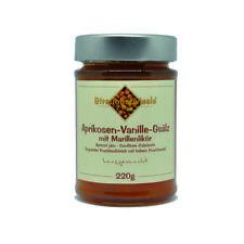 Marmelade Streuobstwiesle Aprikosen Vanille Gsälz mit Marillenlikör - 220 g