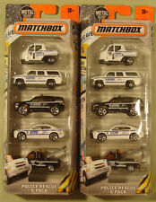 Matchbox NYPD Police Rescue 5-pack 2016 lot (2)