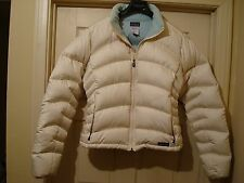 patagonia womens down puffer coat jacket sz L ! LOOK ! $229