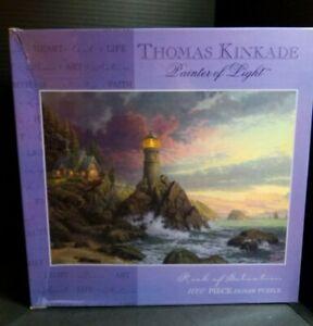 Thomas Kinkade Puzzle Rock Of Salvation 1000 Piece