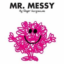 Mr. Messy (Mr. Men and Little Miss)-ExLibrary
