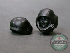 "MH421 Custom Cast Male head for use with 3.75"" Acid Rain Star Wars M.aK figures"