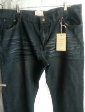 Brooklyn Xpress Mens Jeans 44 33 Distressed NWT Dark Blast BX8655XP 65$ Big