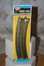 "MODEL POWER HO SCALE 18"" RADIUS TRACK 4-PIECE SECTION PACK #33 CODE 100 NOS LV"