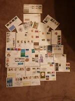29 job lot First Day Covers 1965 to 1996 unusual rare collection