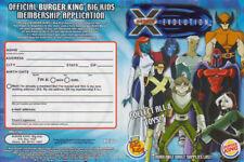 X-Men Evolution Figure set Burger King 2001 Complete Toy set of 8 *SEALED*