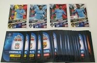 2020 Match Attax 101 Soccer Cards - Lot of 50 cards inc 4 Manchester City Shiny