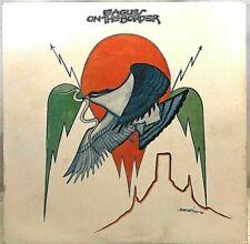 """EAGLES """"On the Border"""" Vinyl LP - 1975 Asylum 7E-1004 -  EX / EX"""