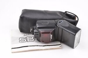 EXC+++ NIKON SB-24 SPEEDLIGHT SHOE MOUNT FLASH, CLEAN, TESTED, POUCH+MANUAL