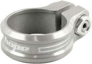 Hope Seat Seatpost Clamp - 36.4mm, Silver