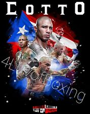 Miguel Cotto 24x36 Boxing Poster BK 4LUVofBOXING New PR