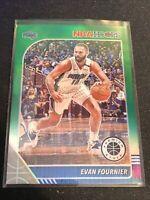 Evan Fournier Green Prizm 2019-20 Panini NBA Hoops Premium Stock Magic