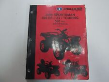 2008 Polaris Sportsman 500 EFI X2 Touring 500 H.O. Service Shop Manual NEW