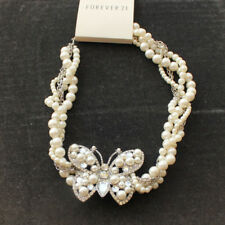 New Forever21 Butterfly Collar Necklace Gift Fashion Lady Party Wedding Jewelry