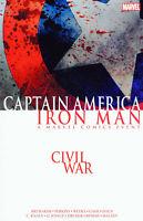 CIVIL WAR CAPTAIN AMERICA IRON MAN TP MARVEL COMICS TPB NEW