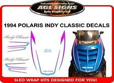 1994 POLARIS INDY CLASSIC HOOD DECALS graphics reproductions
