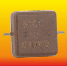 5100 pF 500 V 10% LOT OF 4 RUSSIAN MILITARY SILVER-MICA CAPACITORS KSO-5W КСО-5В