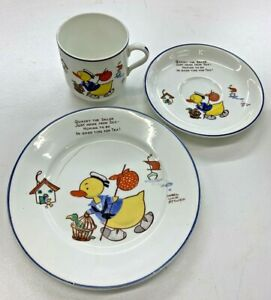 VINTAGE SHELLEY QUACKY THE SAILOR INFANTS TRIO MABEL LUCIE ATTWELL