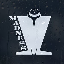Madness Sign Car Decal Vinyl Sticker For Wall Or Window Bumper Panel