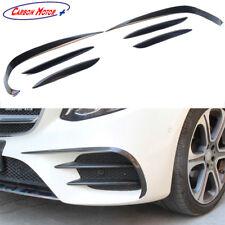 Carbon Fiber Front Canard Bumper Splitter For Mercedes-benz E Class W213 2016 +
