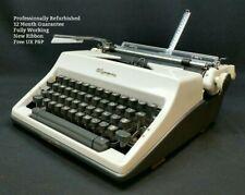 More details for olympia sm9 typewriter working & refurbished vintage 1960s desk portable