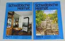 2 x Schwäbische Heimat - Zeitschrift für Regionalgeschichte - 2002 + 2005  /S180