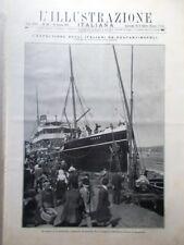 L'illustrazione Italiana 16 Giugno 1912 Morte Giulio Ricordi Candia Belgio Rodi