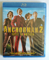 BLU-RAY Film Ita Commedia ANCHORMAN 2 Will Ferrell Paramount no cd lp mc vhs(D3)
